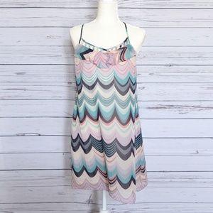 LAUREN CONRAD Summer Pastel Colors Dress - 8